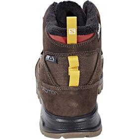 Salomon Utility TS CS WP Winter Shoes Men Trophy Brown Ltr/Absolute Brown-X/Sunny-X